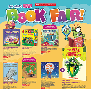 scholastic book fair 2019 middle school