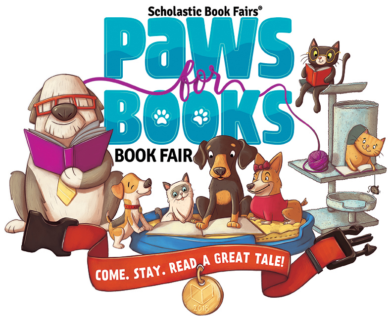 Image result for paws for Books book fair